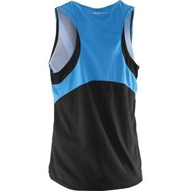 Salming Team Race Singlet Unisex Black/Cyan